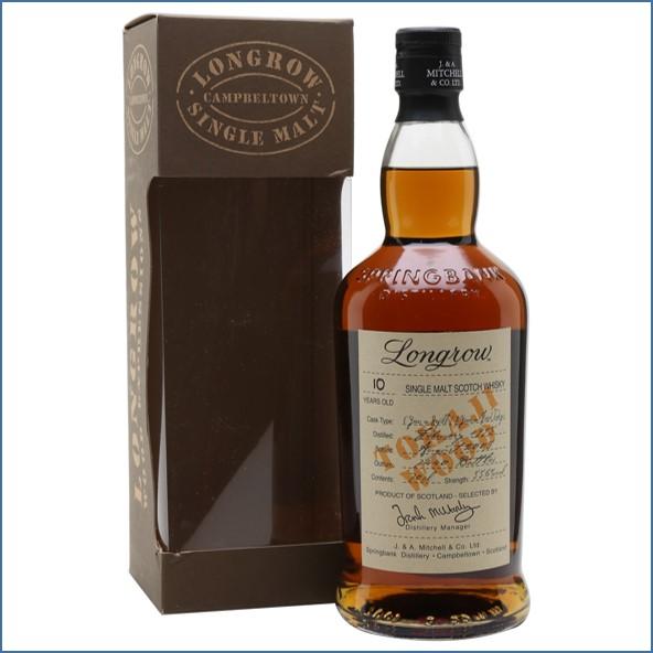 Longrow 10 Year Old 1995-2005 Tokaji Finish Campbeltown Single Malt Scotch Whisky 70cl 55.6%