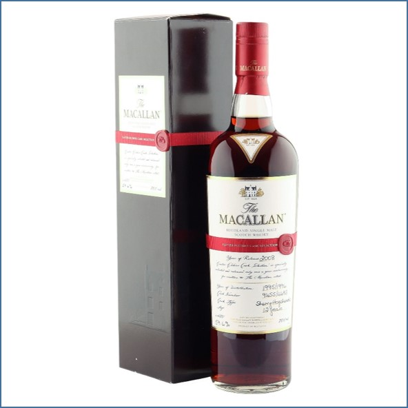 Macallan 1995 1996 12 Year Old Easter Elchies 2008 70cl 59.6%