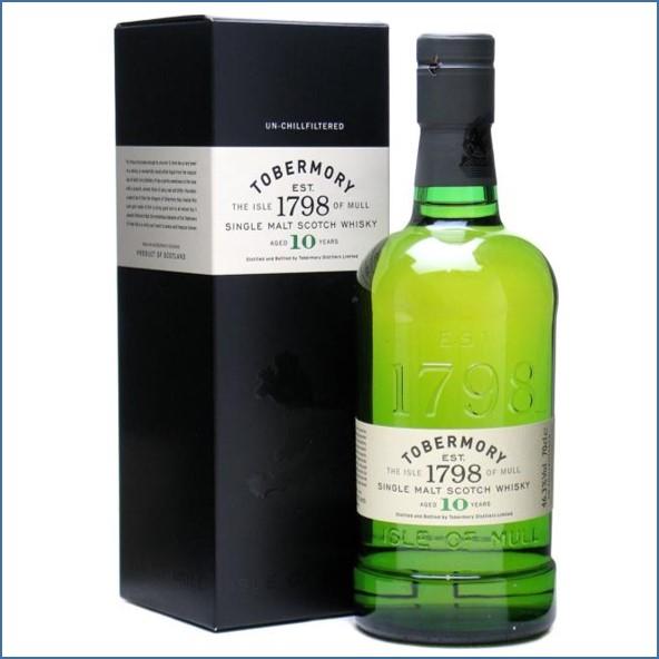 收購托本莫瑞10年 Tobermory 10 Year Old 70cl 46.3%