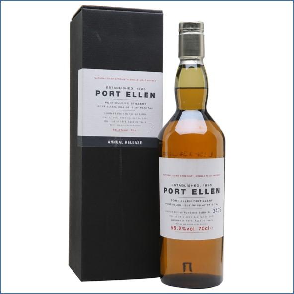 Port Ellen 1979  22 Year Old  1th Release 2001 70cl 56.2%