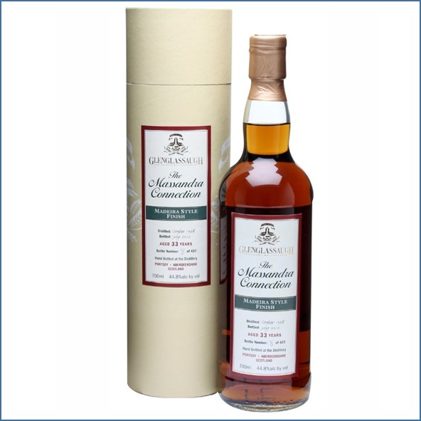 Glenglassaugh 1978 33 Year Old Madeira Style Finish Highland Single Malt Scotch Whisky 70cl 44.8%