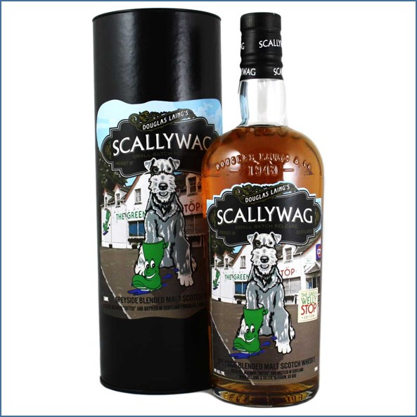 Scallywag The Green Welly Stop Edition Blended Malt Scotch Whisky Douglas Laing 70cl 48%