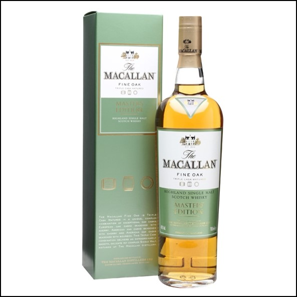 收購麥卡倫 酒廠精選/Macallan Fine Oak Masters' Edition 70cl 40%