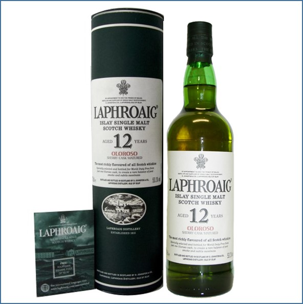 Laphroaig 12 Year Old Oloroso 2007 70cl 53.1%