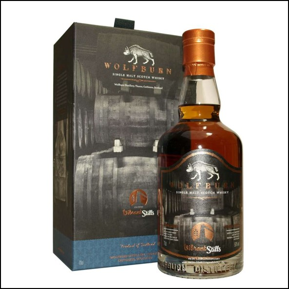 Wolfburn 4 years old Vibrant Stills 2015-2019 PX Sherry Cask 70cl 50%
