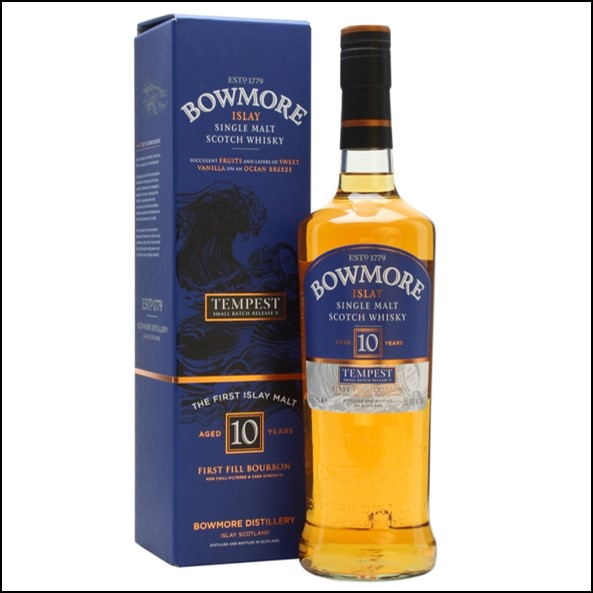 Bowmore Tempest 10 Year Old Batch 6  54.9%