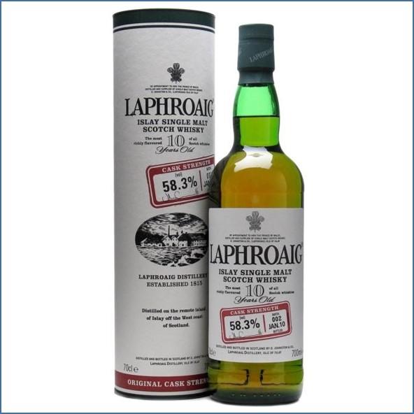 拉佛格10年原酒收購 Laphroaig 10 Year Old Cask Strength Batch 002 Bot.2010 70cl 58.3%