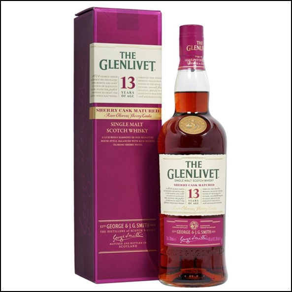 GLENLIVET 13 YEAR OLD Taiwan Exclusive 70cl 40%