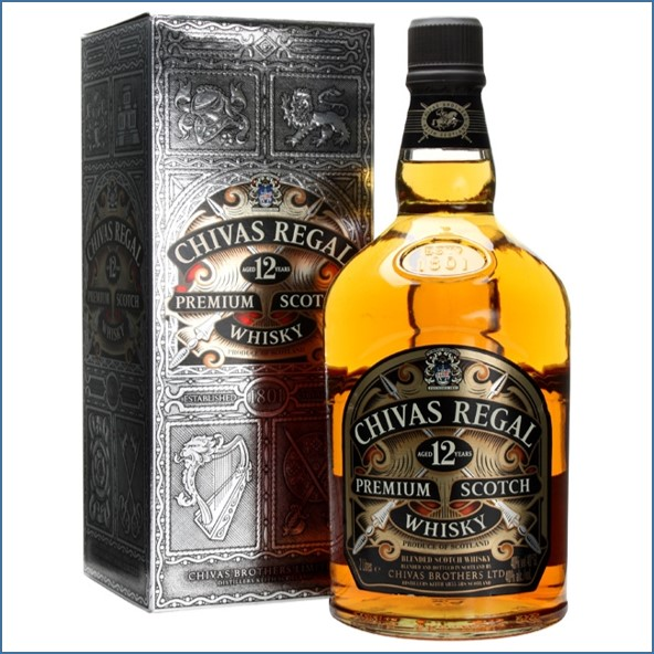 Chivas Regal 12 Year Old Blended Scotch Whisky 200cl 40%  收購奇瓦士,奇瓦士收購