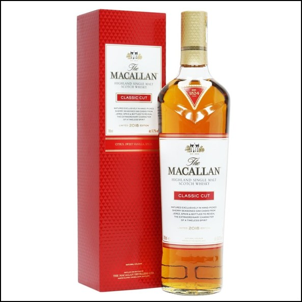 麥卡倫收購 The Macallan Classic Cut Limited Edition 2018 70CL 51.2%