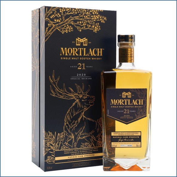 Mortlach 1999 21 Year Old Sherry Finish Special Releases 2020 70cl 56.9%