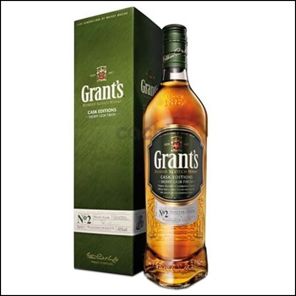 Grant's Sherry Cask Finish Cask Edition No. 2 70cl 40%