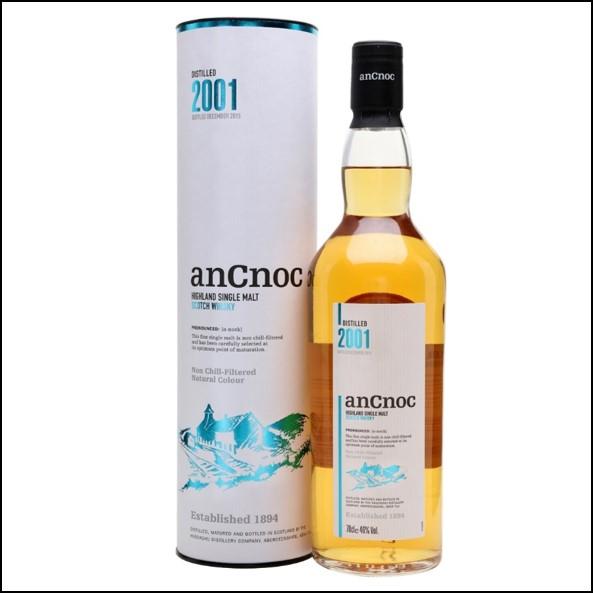 AnCnoc  2001 70cl 46%