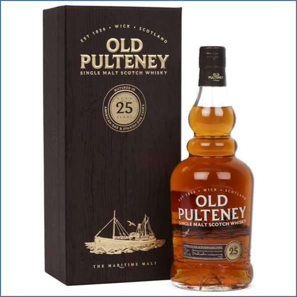 Old Pulteney 25 Year Old 2017 Release 70cl 46%