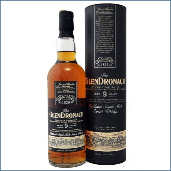 Glendronach 9 Years Darth Vader 70cl 48%