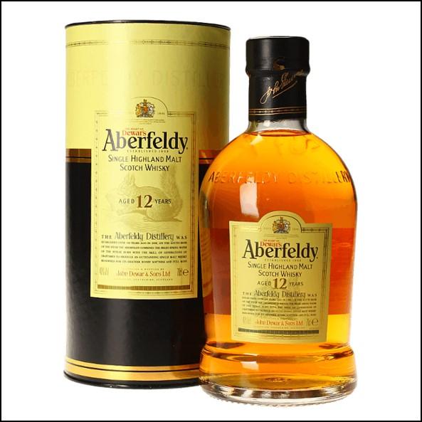 Aberfeldy 12 Year Old Single Malt Scotch Whisky 70cl 40.0% 收購艾伯迪12年