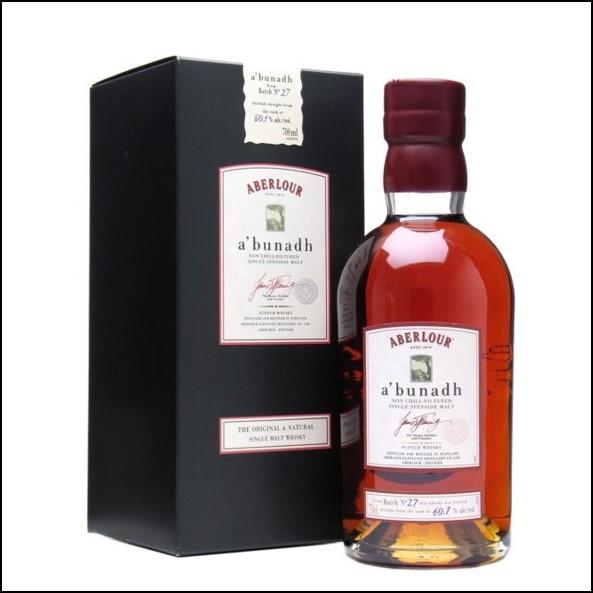 ABERLOUR A'BUNADH Batch 29 70cl 59.9% 收購亞伯樂單桶原酒
