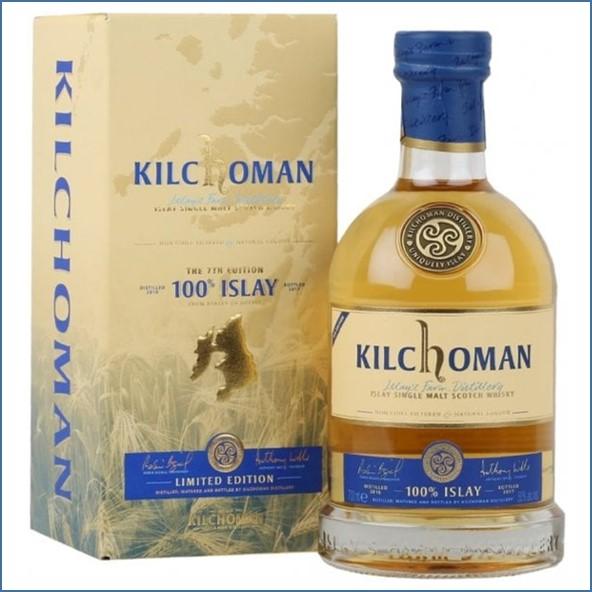 Kilchoman 100% Islay  7th Edition 70cl 50.9%