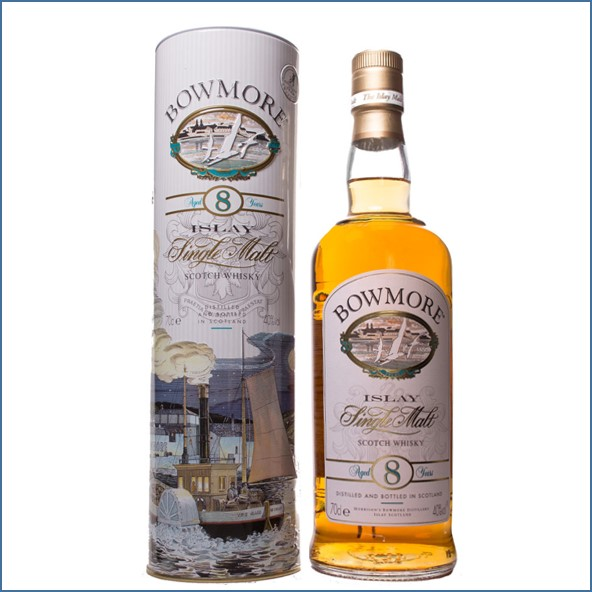 Bowmore 8 Year Old Legend of Romance of the search of the devil 70cl 40%
