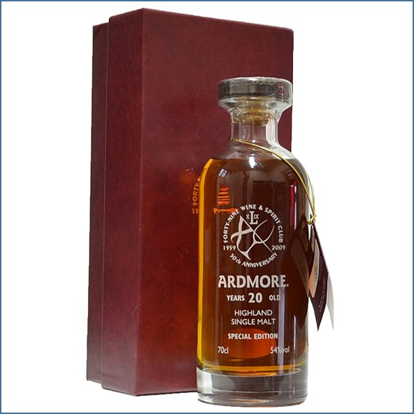 Ardmore 20 Year Old Signatory 70cl 54%