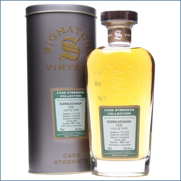 Glenglassaugh 1976 32 Year Old Highland Single Malt Scotch Whisky Signatory 70cl 44.4%