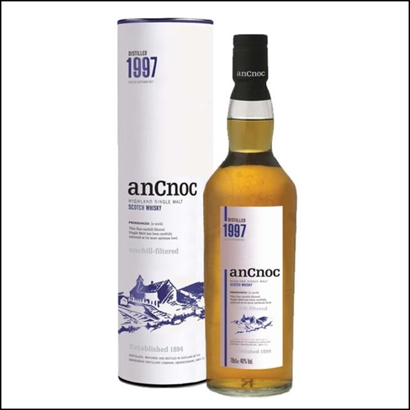 AnCnoc  1997 70cl 46%