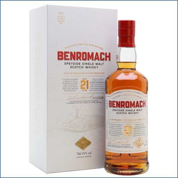 Benromach 21 Year Old 70cl 43%