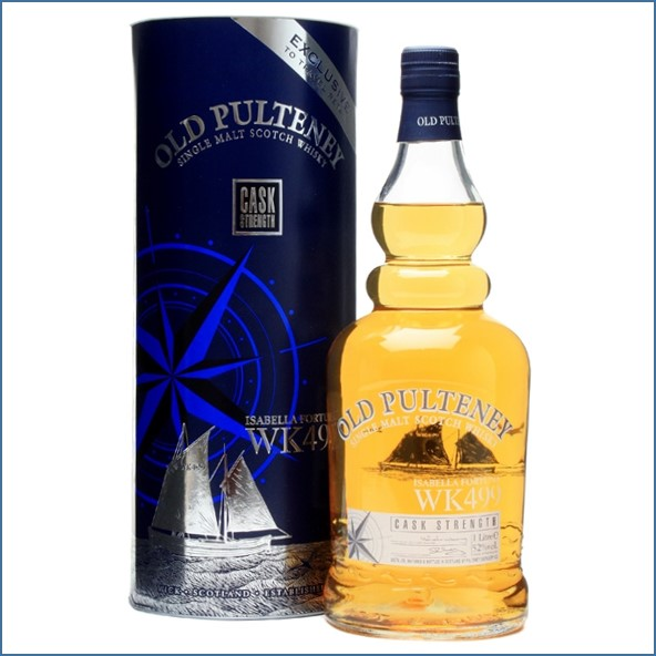 Old Pulteney Isabella Fortuna WK499 100cl 52%