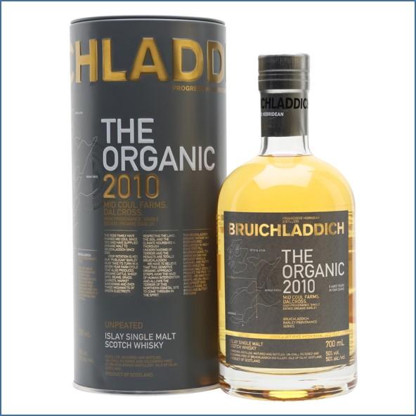 布萊迪收購 Bruichladdich Organic 2010 70cl 50%