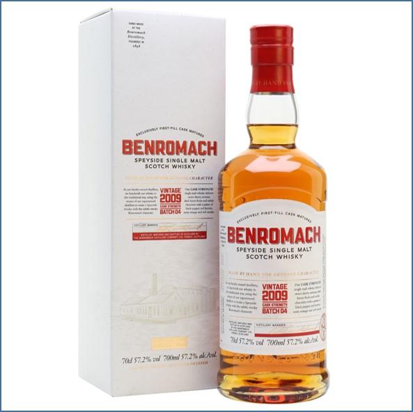 Benromach Cask Strength Vintage 2009 Batch 4 70cl 57.2%