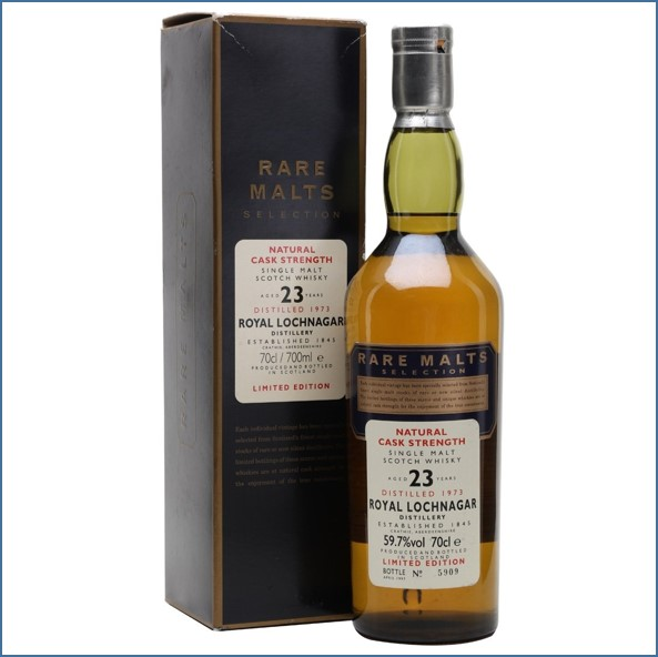 Royal Lochnagar 1973 23 Year Old Rare Malts 70cl 59.7%