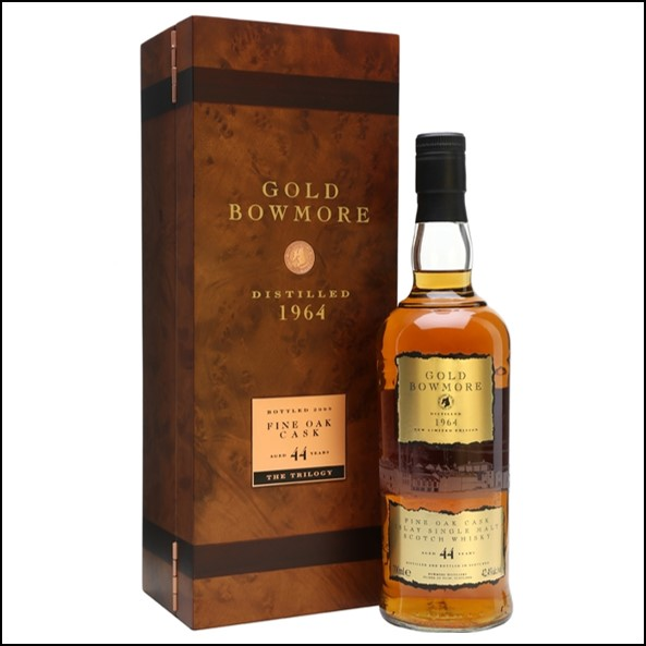 Gold Bowmore  44 Year Old 1964 42.4%