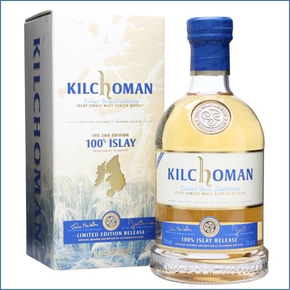 Kilchoman 100% Islay  2th Edition 70cl 50%