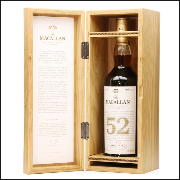 Macallan 52 Year Old - 2018 Release