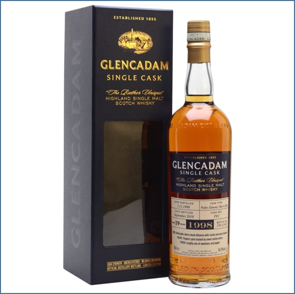 Glencadam 14 Year Old Bourbon Barrel 2003 70cl 62.8%