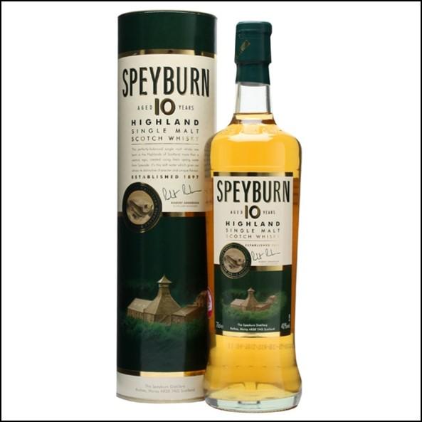 Speyburn 10 Year Old Speyside Single Malt Scotch Whisky 70 cl 40%