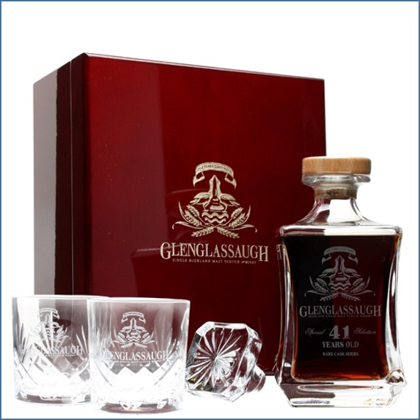 Glenglassaugh 41 Year Old Highland Single Malt Scotch Whisky 70cl 44.6%