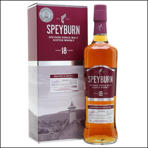 Speyburn 18 Year Old Anniversary Edition Speyside Single Malt Scotch Whisky 70cl 46%