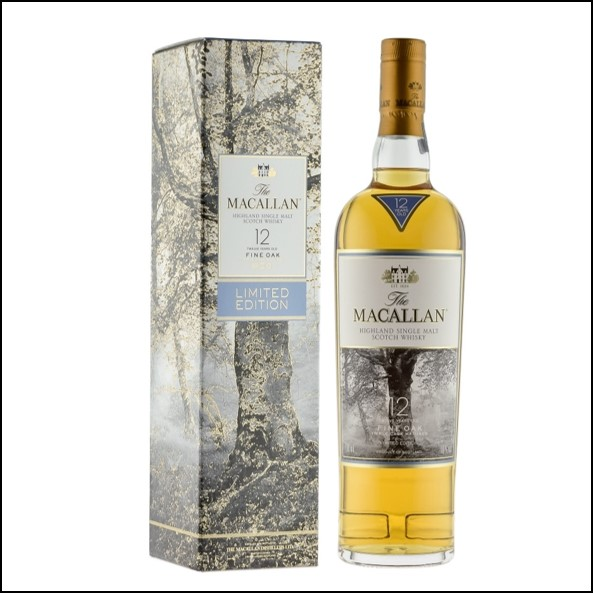 收購麥卡倫12年 Fine Oak橡樹版/Macallan Fine Oak 12 Year Old 70cl 40%
