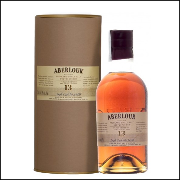 Aberlour 13 Years Old First Fill Sherry Butt LMDW Cellar Book Single Cask 34595 70cl  58% 收購亞伯樂 13年