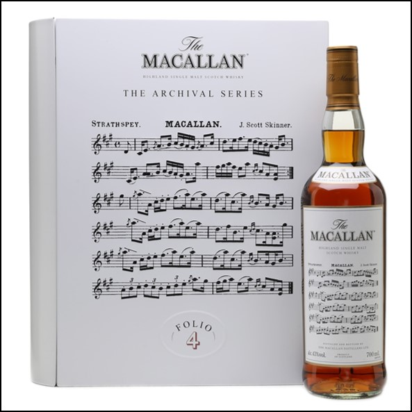 收購麥卡倫 書冊 4/ Macallan The Archival Series  Folio 4 70cl 40%