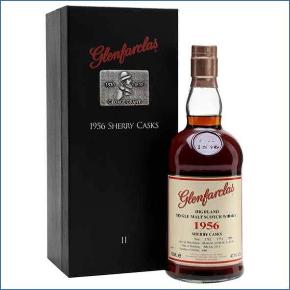 Glenfarclas 58 Year Old 1956 Oloroso Sherry Casks Family Collection Ⅱ 70cl 47.5%