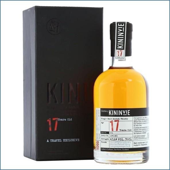 Kininvie 17 Year Old - Batch No. 001 35CL 42.6%