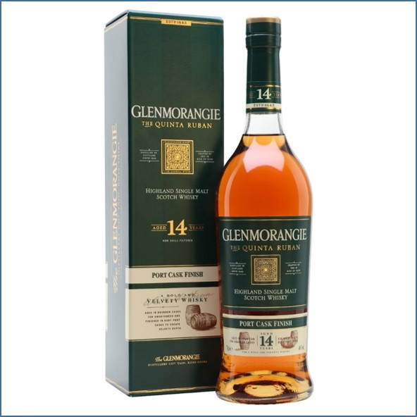 Glenmorangie 14 Year Old Quinta Ruban Port Finish 70cl 46%