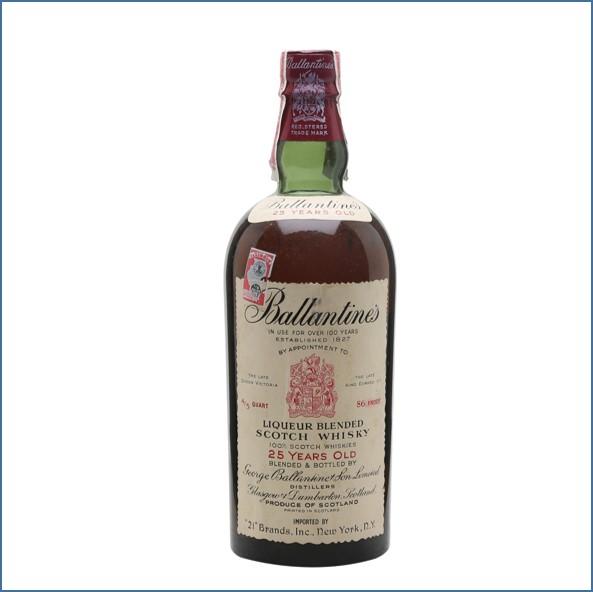 Ballantine's 25 Year Old Bot.1950s 75cl 43%