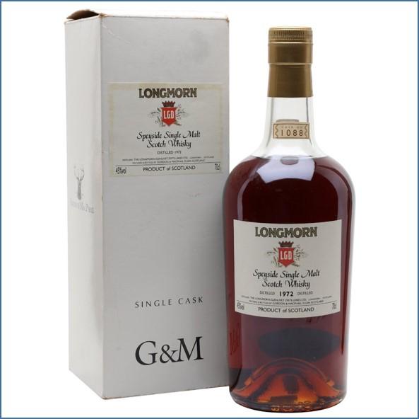 Longmorn 1972 33 Year Old 2006 Sherry Cask Gordon & Macphail 70cl 45%