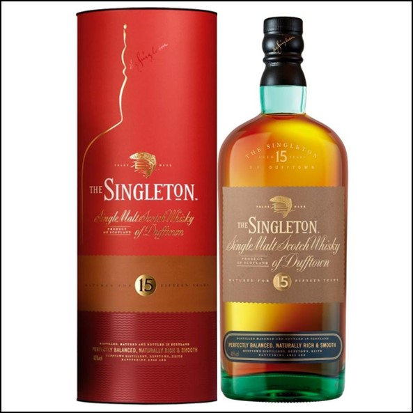 The Singleton of Dufftown 15-year-old 70cl 40% 收購蘇格登15年