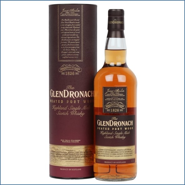 GlenDronach Peated Port Wood 70cl 46%