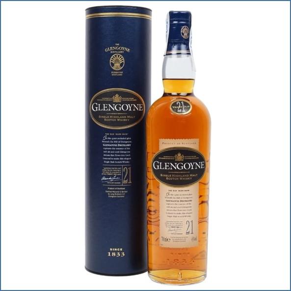 Glengoyne 21 Year Old - Old Bottling - Tin 70cl 43%