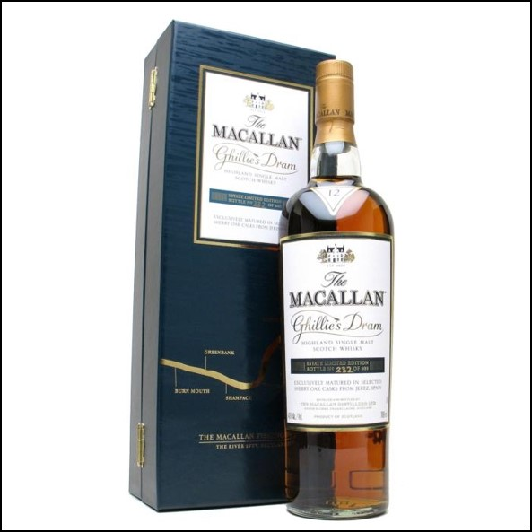 收購麥卡倫12年/ Macallan Ghillies Dram 12 Year Old 70cl 40%
